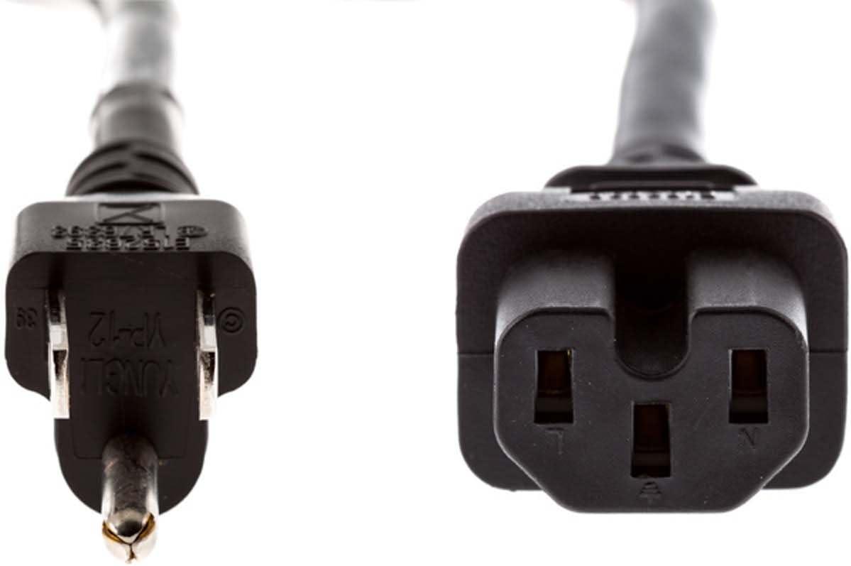 FUNAI SYLVANIA WBC0202H0001 6842PE Compatible Standard AC Power Cord 6ft