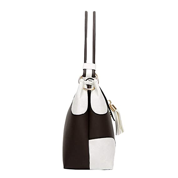 31df07bf8692 Amazon.com  DCRYWRX Handbags for Women Large Designer Ladies Hobo Bag Big  Capacity Tassel Handbag Bucket Purse Faux Leather