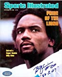 Autograph Warehouse 34988 Billy Sims Autographed 8 x 10 Photo Detroit Lions Sports Illustrated Cover