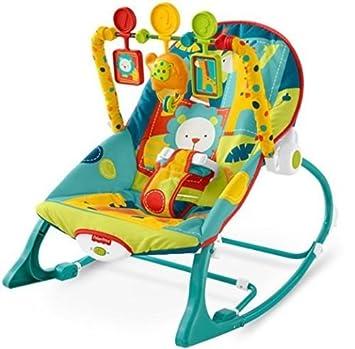 Amazon.com: Silla Mecedora Vibradora para Bebés - Estimulante ...