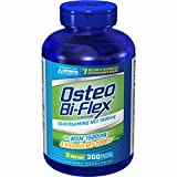 Osteo Bi-Flex 1,500mg Glucosamine with MSM and Vitamin D3 Dietary Supplement - 200 ct. (pack of 6)