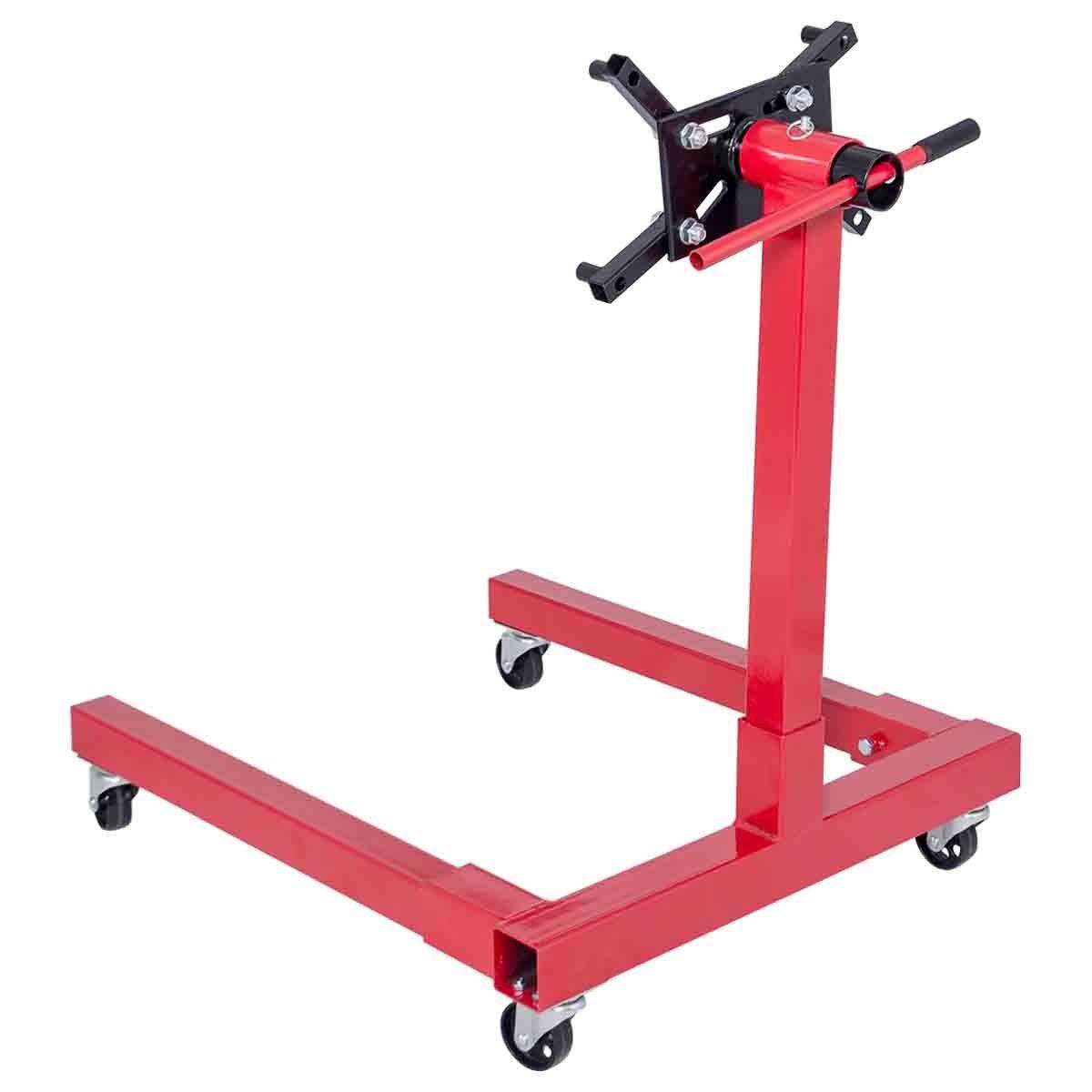 Toolsempire Engine Stand Hoist Automotive Lift Rotating 1250 lbs Capacity Wheel Shop Motor Stand