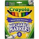 8 ct. Crayola Broad Line Washable