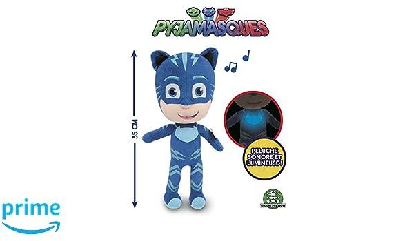 Giochi Preziosi pjm12000 PJ MASKS Super pigiamini personaggio con música: Amazon.es: Juguetes y juegos