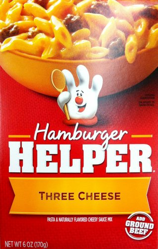 Betty Crocker THREE CHEESE Hamburger Helper 6oz (2 ()