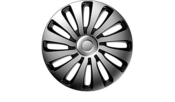 Amazon.com: j-tec J15516 Sepang Wheel Trims, Silver/Black, 15 Inch ...