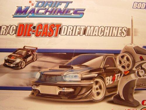 1/24 DIE-CAST DRIFT MACHINES R/C TOYOTA CELICA &NISSAN 350Z BODY EXCHANGE