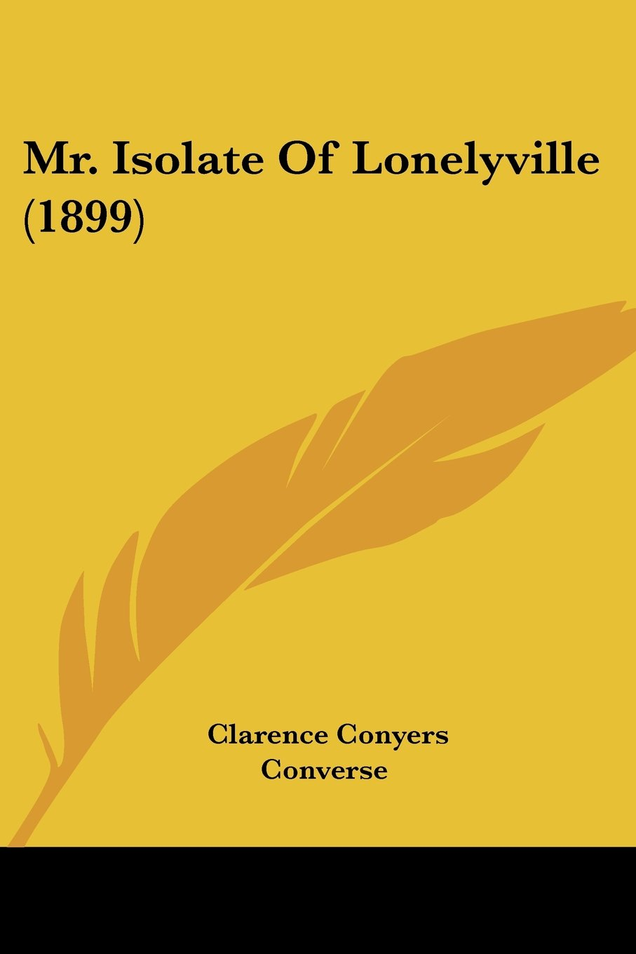 Download Mr. Isolate Of Lonelyville (1899) ebook