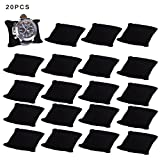 Velvet Small Bracelet /Watch Pillow Jewelry Displays-20PCS (black)