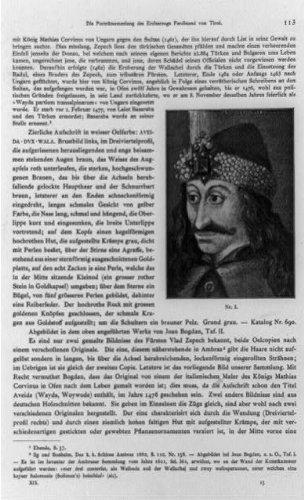 Photo: Vlad Tepes, Vlad, Impaler, III, Dracula, wearing banded hat, Prince of Wallachia, 1898