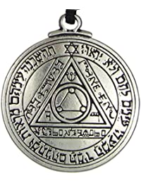 Pentacle of the Sun Talisman Key of Solomon Seal Pendant Hermetic Enochian Kabbalah Pagan Wiccan Jewelry