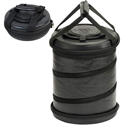 Portable Soft Sided Cooler Bag Collapsible Folding Fully Insulated | 25 Can Capacity | Hard Top and Bottom | Waterproof Cotton Canvas Material Perfect for Camping, Fishing, Daily Trip to Beach -