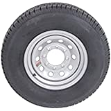 16 Inch 8 on 6.5 S Silver Mod Trailer Wheel 8 Lug with ST235/80R16 Radial Tire