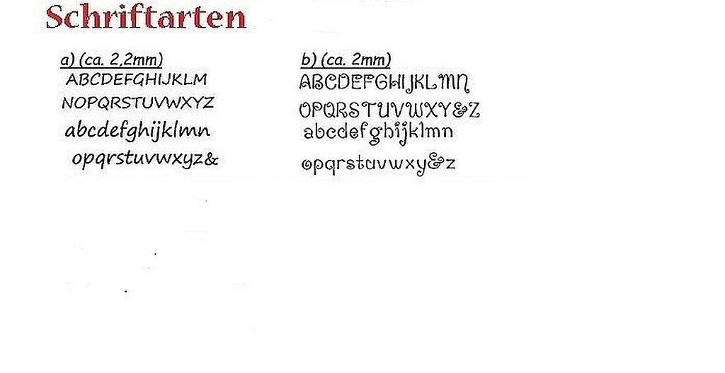 Plektrumkette mit Wunschtext