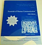 Instructor's Manual and Test Bank with Transparency Master for Essentials of Human Communication Fifth Edition