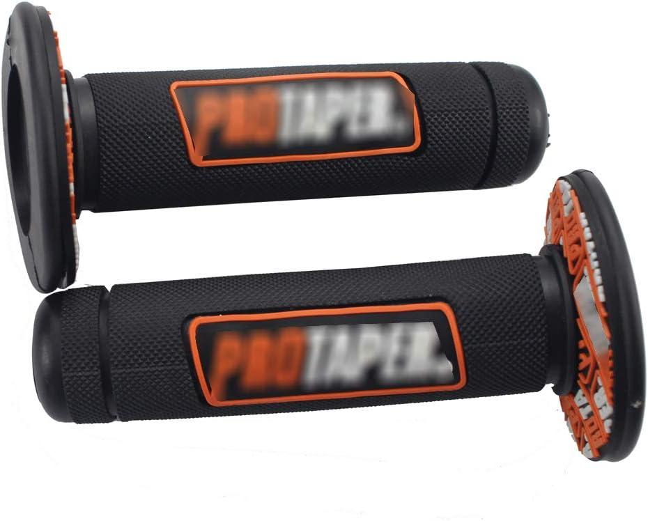 orange Motorcycle Handlebar Grips 7//8 22mm 28mm Dirt Pit Bike ATV UTV Universal Pro Part Racing Rubber For EXC SX SXF SX-F SXFW XCW EXCF 125 250 350 450
