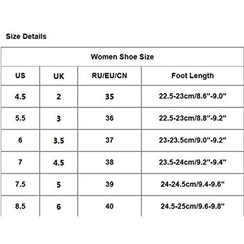 hunpta - Sandalias deportivas de malla para mujer Beige