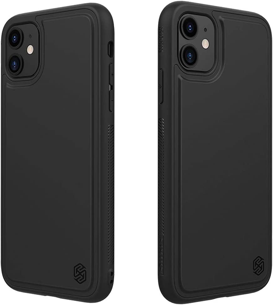"""Nillkin Magnetic TPU Case Slim Soft Back Cover, Specially Designed for Nillkin Car Magnetic Wireless Charger (Compatible with iPhone 11 6.1"""")"""