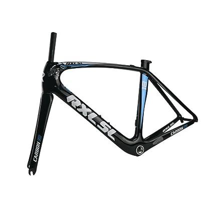 Amazon.com : RXL SL Carbon Frame Road Bike Frames Carbon Fiber ...