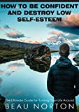 How to Be Confident and Destroy Low Self-Esteem: The Ultimate Guide for Turning Your Life Around