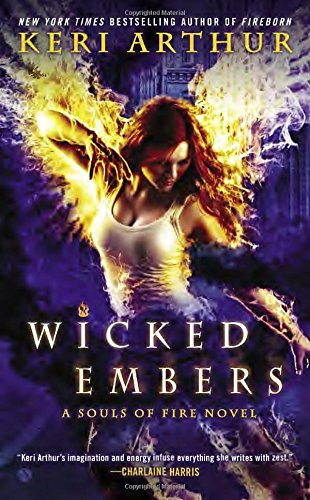 book cover of Wicked Embers