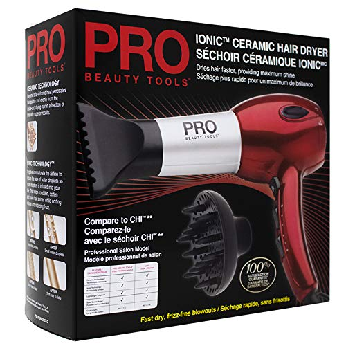 Pro Beauty Tools Professional Turbo Hair Dryer