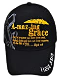 Altis Apparel Jesus is The Key - Christian Religious Baseball Cap - Adult Hat (Amazing Grace)