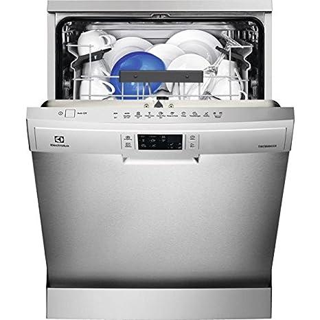 Electrolux ESF5535LOX lavavajilla Independiente 13 cubiertos A+++ - Lavavajillas (Independiente, Tamaño completo (60 cm), Acero inoxidable, Gris, ...