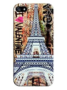 Case For HTC One M8 Cover Phone Case And Cover For Eiffel Tower On Sale #1