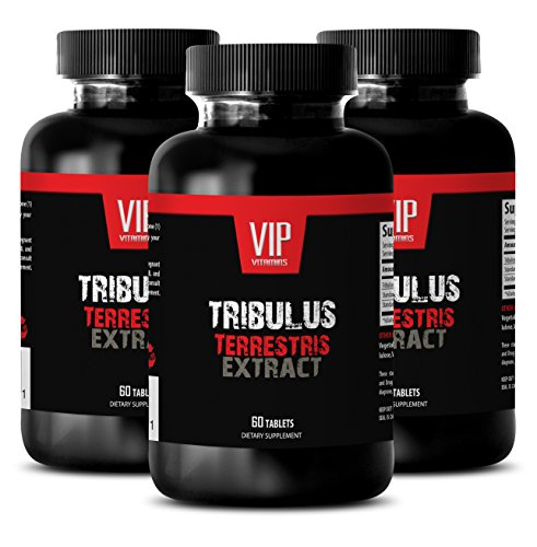 Sex enhancer for couples - NATURAL TRIBULUS TERRESTRIS 1000MG - Tribulus strength libido booster - 3 Bottle (180 Capsules) by VIP Supplements