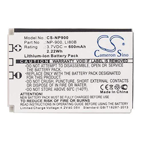 Price comparison product image Sunsamy-CA Camera Battery,  600mAh / 2.22Wh 3.7V Camera Battery for Aosta 02491-0015-00 02491-0037-00 BATS4 / DA 4092 DA 5091 DA 5092, Backup Camera Cells (Color : Black,  Size : 43.70 x 31.30 x 7.00mm)