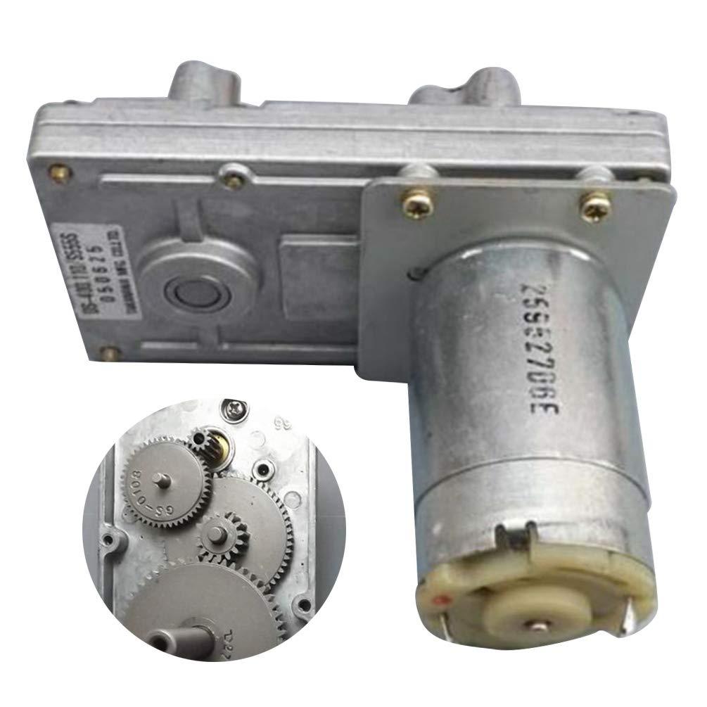 Turbinengetriebe Dc Motordrehzahl Reduziermotor f/ür Elektronische Roboterschl/össer Dc12V 160 60Mm 7 F/örmiger Getriebemotor 70