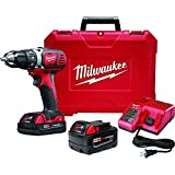Milwaukee M18 18-Volt Lithium-Ion 1/2 in. Cordless Compact Drill Kit with 1 3.0 Lithium-Ion XC Battery