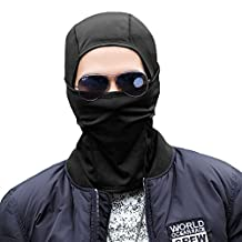 SIGGI Unisex Windproof Motorcycle Tactical Ski Skull Balaclava Hood Face Mask