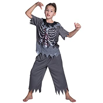 MEIXIA Disfraz De Halloween para Niños/Zombie Traje De ...