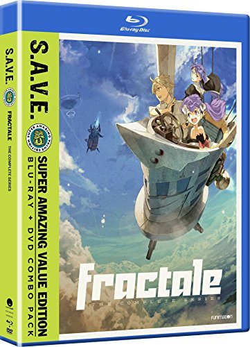 Fractale: The Complete Series S.A.V.E. (Blu-ray/DVD Combo)