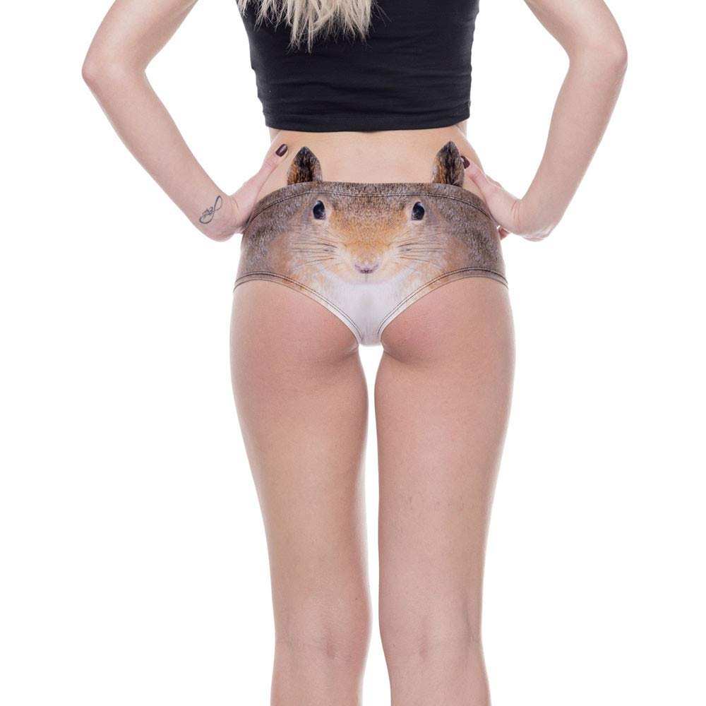Lingerie for Women, VANSOON Ladies Animal 3D Digital Printing Underwear  Comfort Knickers Breathable Sexy Thongs Panties at Amazon Women's Clothing  store: