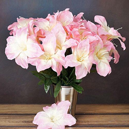Efavormart 60 Easter Artificial Lilies for DIY Wedding