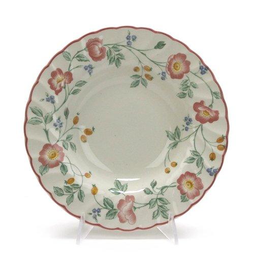 (Briar Rose by Churchill, China Rim Soup Bowl)