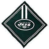 NFL New York Jets Full Color Fandana, L 3.5-Inch x W .5-Inch x H 6-Inch