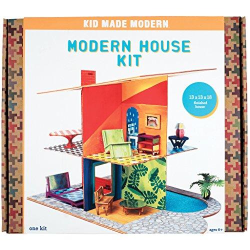 - Kid Made Modern Modern House Craft Kit - Kids Arts & Crafts Toys | Doll House