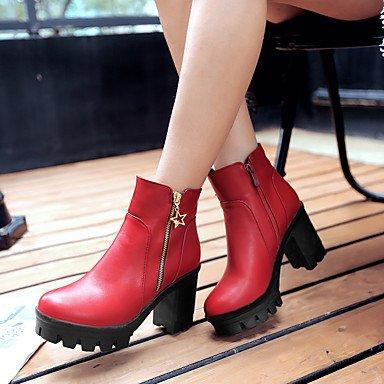 pwne Zapatos De Mujer Cuñas / Plataforma / Moda Botas Botas Exteriores / Oficina &Amp; Carrera / Plataforma Informal US4-4.5 / EU34 / UK2-2.5 / CN33