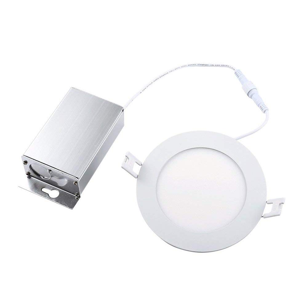 8W Ultra-Thin Round LED Panel Light Dimmable 4inch Downlight with LED Driver (3000K)