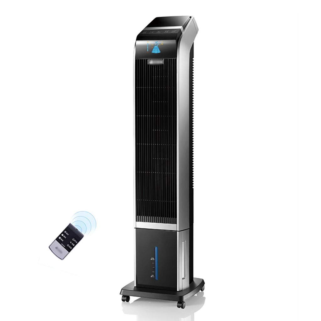 GAIQIN Electric fan Tower Air Conditioner Fan - Humidification Cooling Fan - Easy To Move - Intelligent Timing 40W