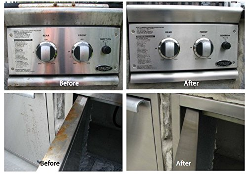Organic Stainless Steel Cleaner & Rust Remover: Innoshine B570 (8.45oz ea.) EliminateRust