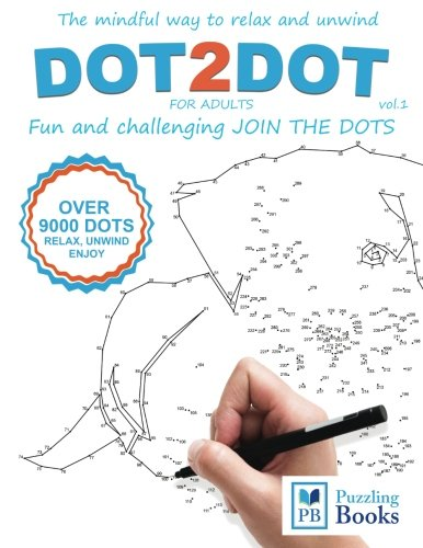 DOT-TO-DOT For Adults Fun and Challenging Join the