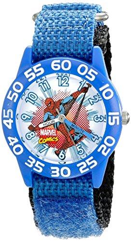 Marvel Kids' W001721 Spider-Man Analog Display Analog Quartz Blue Watch