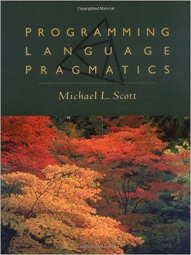Book Programming Language Pragmatics