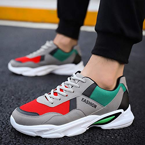 Mode Chaussures Homme NANXIEHO Chaussures Sport Chaussures Ados Sneakers Augmenter Loisir Single Harajuku Tendance 8qC7wq