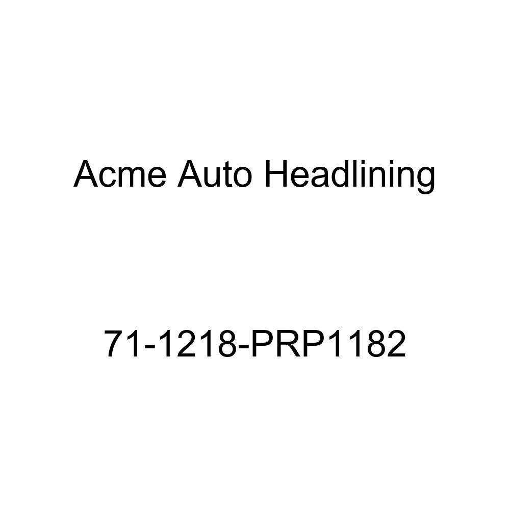 Acme Auto Headlining 65-1432-TIE1328 Red Replacement Headliner Chevrolet Chevy II 2 Door Hardtop 5 Bow